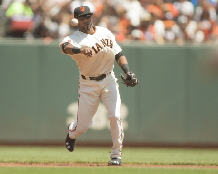 MLB: Washington Nationals at San Francisco Giants